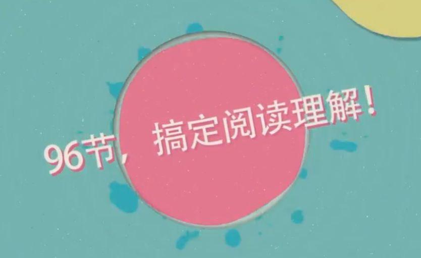 中小学语文辅导课程,王芳老师的96节搞定阅读理解